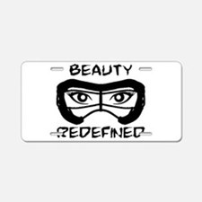 Lacrosse Beauty Redefined Aluminum License Plate