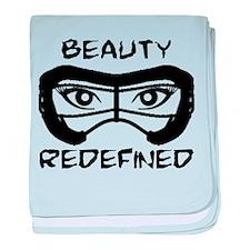 Lacrosse Beauty Redefined baby blanket