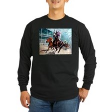 new_downthefirstturn Long Sleeve T-Shirt