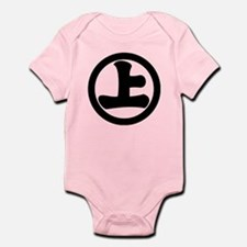 Sage-jo in circle Infant Bodysuit