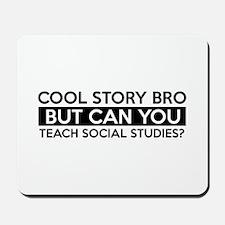 Teach Sociology job gifts Mousepad