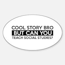 Teach Sociology job gifts Decal