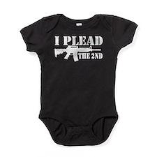 I Plead the 2nd Baby Bodysuit