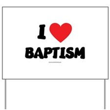 I Love Baptism - LDS Clothing - LDS T-Shirts Yard