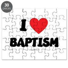 I Love Baptism - LDS Clothing - LDS T-Shirts Puzzl