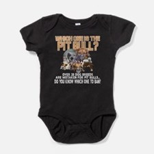 Find the Pit Bull Baby Bodysuit