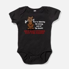 Ban Bad Owners Baby Bodysuit