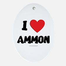 I Love Ammon - LDS Clothing - LDS T-Shirts Ornamen
