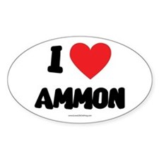 I Love Ammon - LDS Clothing - LDS T-Shirts Decal