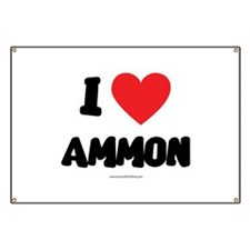 I Love Ammon - LDS Clothing - LDS T-Shirts Banner