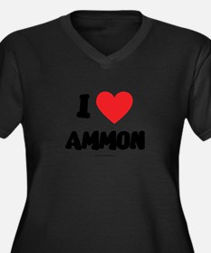 I Love Ammon - LDS Clothing - LDS T-Shirts Plus Si