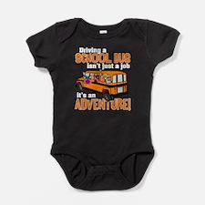 Driving a School Bus Baby Bodysuit