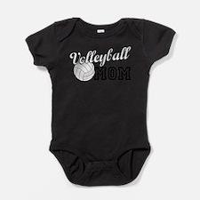 Volleyball Mom Baby Bodysuit