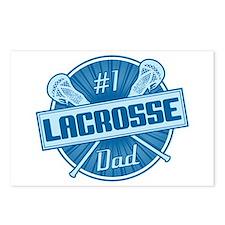 # Lacrosse Dad Postcards (Package of 8)