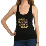 OWN ROADS.png Racerback Tank Top