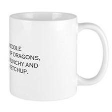 Leave the Dragons Alone Mug