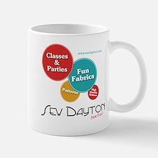 sew dayton logo Mug