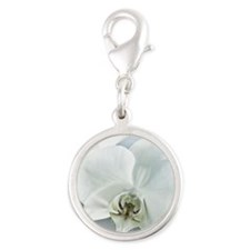 White Orchid Charms