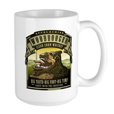 Appalachian Woodbooger Clear Corn Whiskey Mug