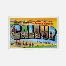 Gallup New Mexico Greetings Rectangle Magnet