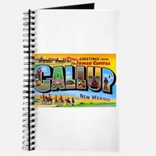 Gallup New Mexico Greetings Journal