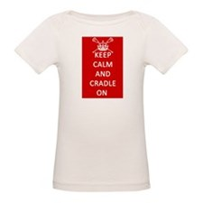 Keep Calm and Cradle On T-Shirt