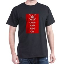 Lacrosse Keep Calm and Ride On T-Shirt