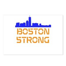 Boston Strong Skyline Postcards (Package of 8)