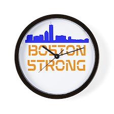 Boston Strong Skyline Wall Clock