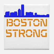 Boston Strong Skyline Tile Coaster