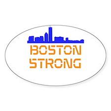 Boston Strong Skyline Decal