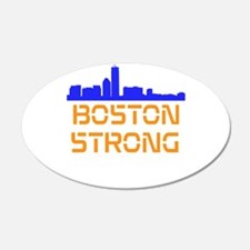 Boston Strong Skyline Wall Decal