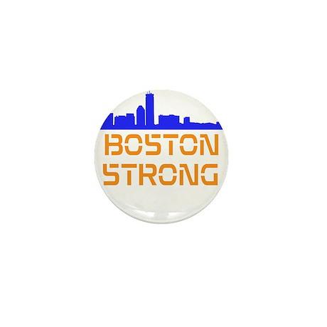 Boston Strong Skyline Mini Button (10 pack)