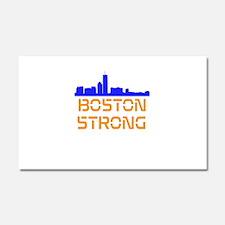 Boston Strong Skyline Car Magnet 20 x 12