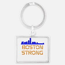 Boston Strong Skyline Keychains