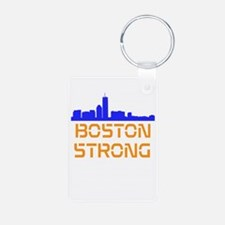 Boston Strong Skyline Keychains