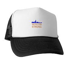 Boston Strong Skyline Trucker Hat