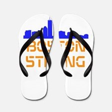 Boston Strong Skyline Flip Flops