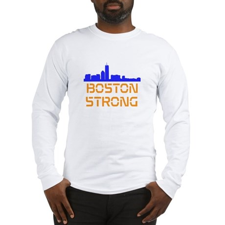 Boston Strong Skyline Long Sleeve T-Shirt