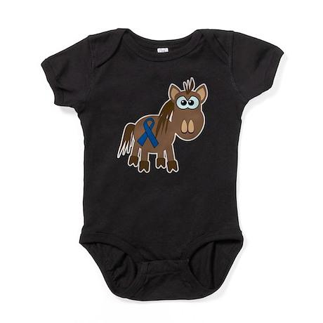 blue ribbon horse copy.png Baby Bodysuit