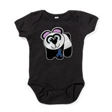 blue ribbon panda copy.png Baby Bodysuit