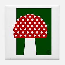 Toadstool Tile Coaster