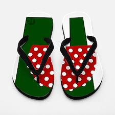 Toadstool Flip Flops
