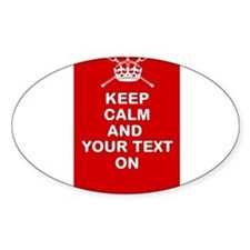 Lacrosse Keep Calm and ???? On Sticker