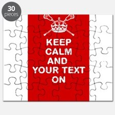 Lacrosse Keep Calm and ???? On Puzzle