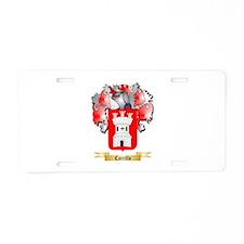 Carrillo Aluminum License Plate