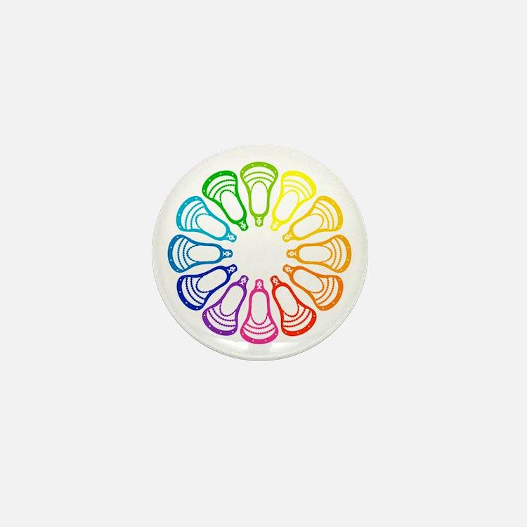 Lacrosse Spectrum Mini Button