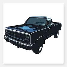 "Dodge Power Ram Pickup Truck Square Car Magnet 3"""