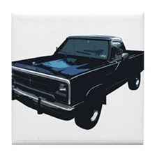 Dodge Power Ram Pickup Truck Tile Coaster
