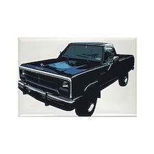 Dodge Power Ram Pickup Truck Rectangle Magnet